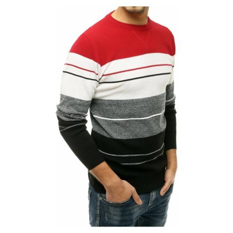Red men's sweater WX1677 DStreet