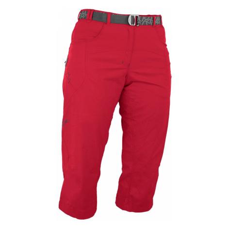Warmpeace Flex 3/4 Pants red rose