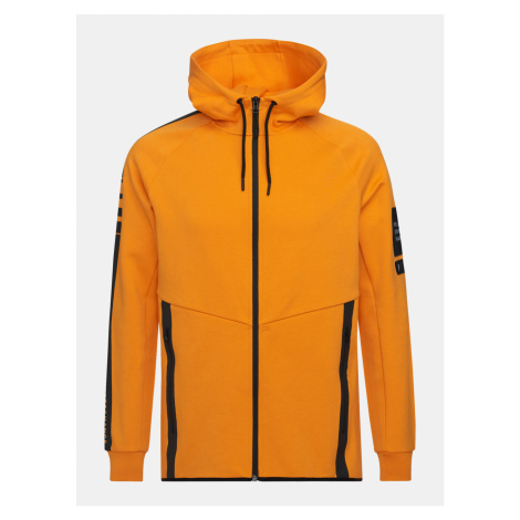 Mikina Peak Performance M Tech Zip Hood - Oranžová