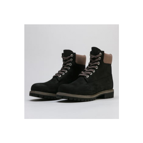Timberland 6in Premium Waterproof black nubuck