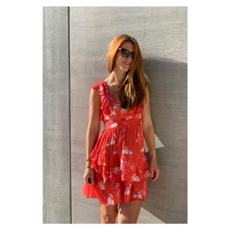 Maaji šaty - červená Maaji Swimwear