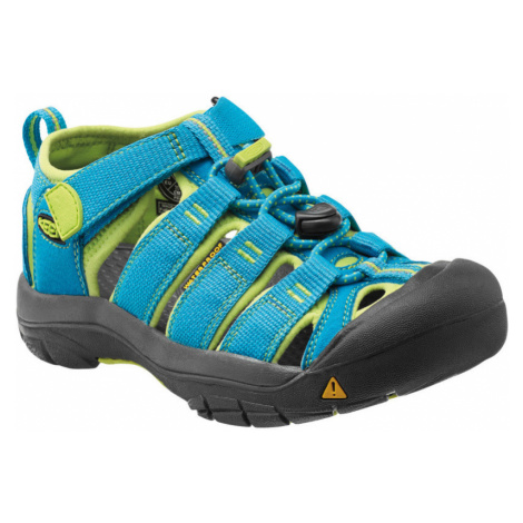KEEN Newport H2 K Dětské sandály KEN1201064722 hawaiian blue/green glow