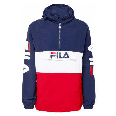 FILA Přechodná bunda 'Bianco Ladislaus' námořnická modř / bílá / ohnivá červená