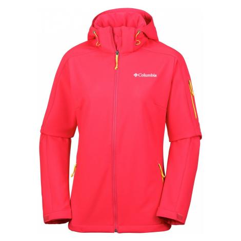 Bunda Columbia Cascade Ridge™ Jacket W - červená