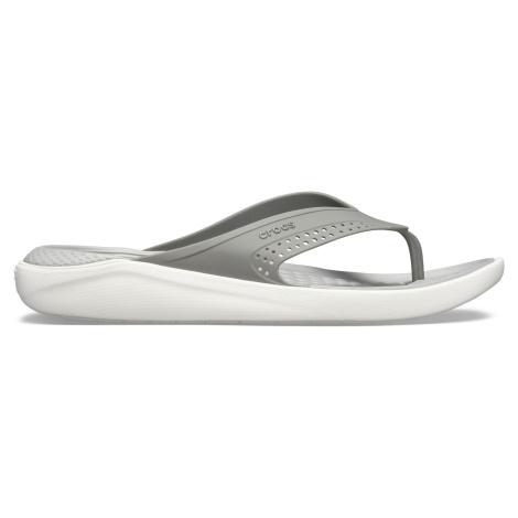 Crocs LiteRide Flip Smoke/Pearl White