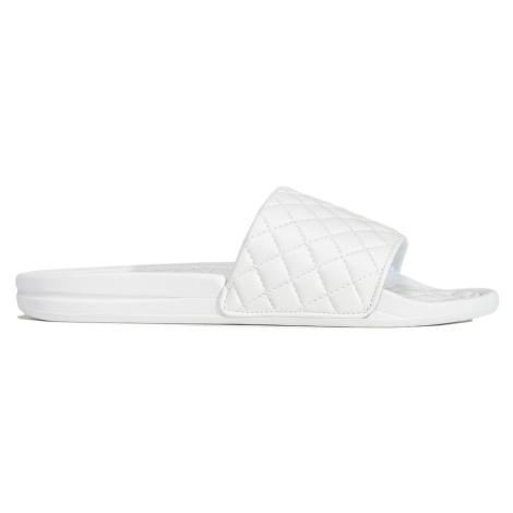 Pantofle APL Athletic Propulsion Labs TECHLOOM LUSSO SLIDE bílá