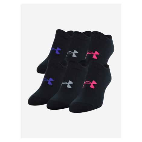 Ponožky Under Armour Girl\'S Essential Ns Černá