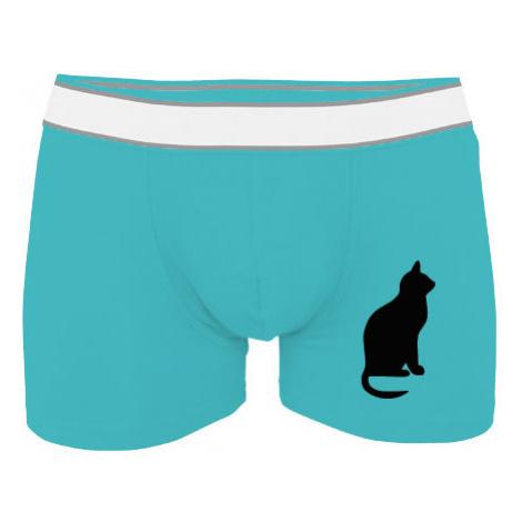 Pánské boxerky Contrast Kočka - Shean