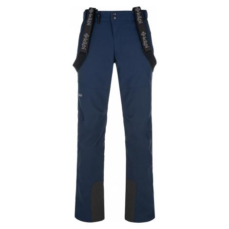 KILPI Pánské lyžařské softshellové kalhoty RHEA-M NM0030KIDBL Tmavě modrá