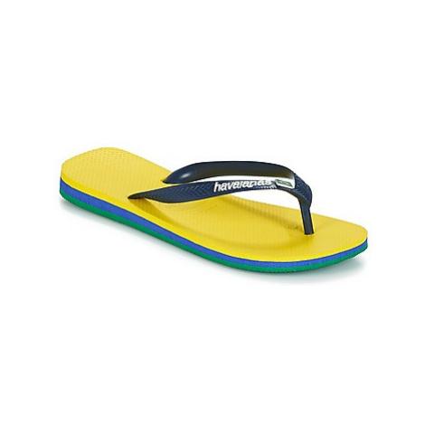 Havaianas BRASIL LAYERS Žlutá