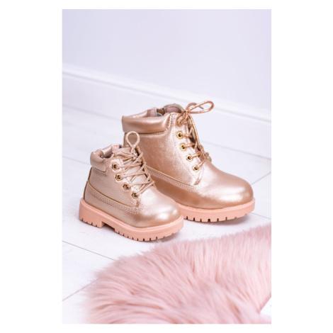 Children's Trapery Boots Golden Rose Dexter