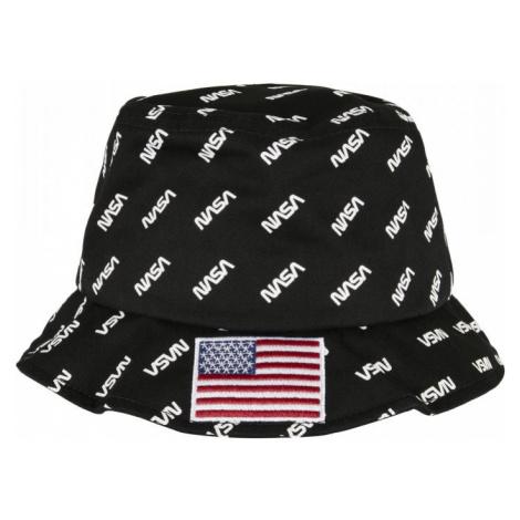 NASA Allover Bucket Hat - black Mister Tee
