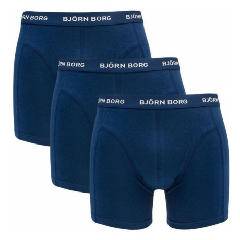 3PACK pánské boxerky Bjorn Borg modré (9999-1024-70102)