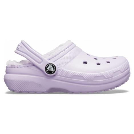 Crocs Classic Lined Clog K Lavender/Lavender
