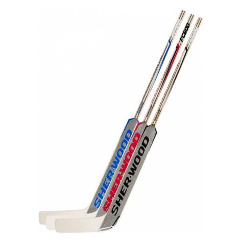 Brankařská hokejka Sher-Wood FC500 SR červená PP41 levá (normální gard) 25 palců