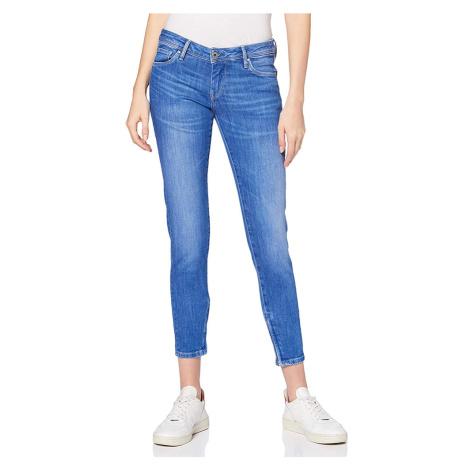 Pepe Jeans dámské modré džíny Cher