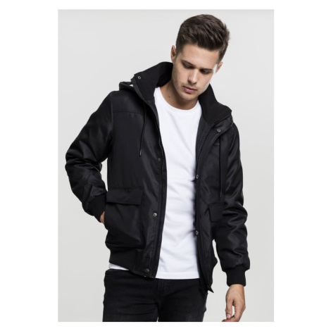 Heavy Hooded Jacket - black Urban Classics