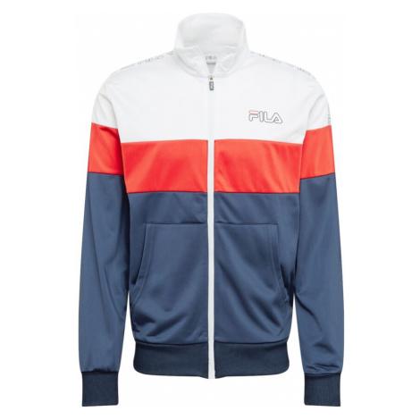 FILA Sportovní bunda 'Jairus' bílá / červená / námořnická modř