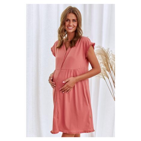 Těhlová těhotenská noční košile TCB9600 Doctor Nap