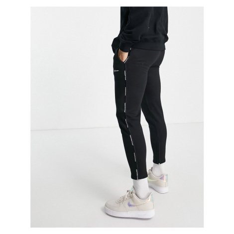 Good For Nothing fitted joggers in black
