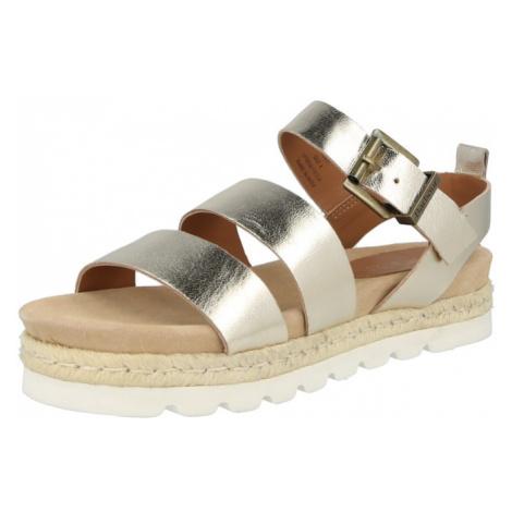 Barbour Beacon Páskové sandály 'Gabbie' zlatá