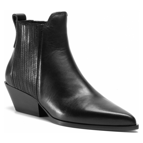 Kotníková obuv s elastickým prvkem FURLA - West YD31FWT-S40000-O6000-1-007-20-IT Nero
