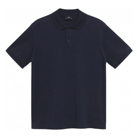 MANGO MAN Tričko 'Rea' noční modrá