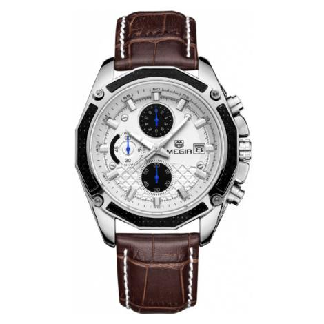 Pánské analogové hodinky Polite bílé WEIDE
