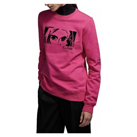 Růžová mikina - KARL LAGERFELD