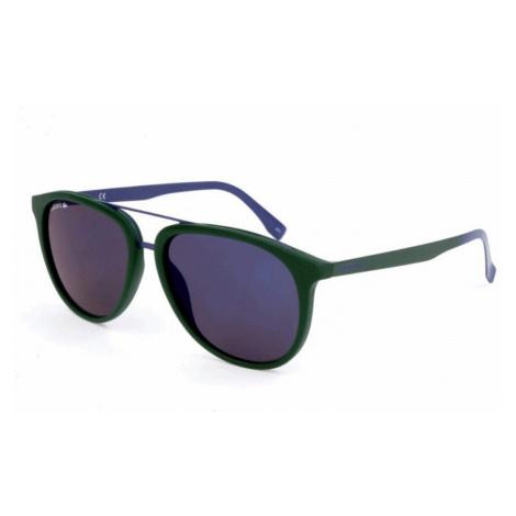 Lacoste Lacoste pánské tmavě zelené sluneční brýle
