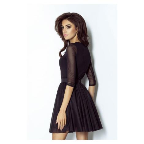 Dámská vzdušná tylová sukně v černé barvě SP56 IVON