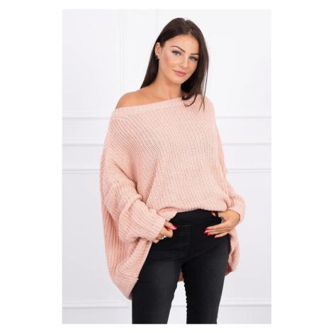 Sweater Oversize powdered pink