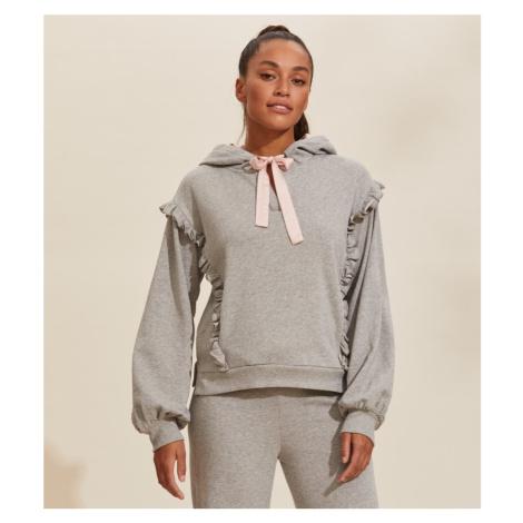 Svetr Odd Molly Paulina Hood Sweater - Šedá