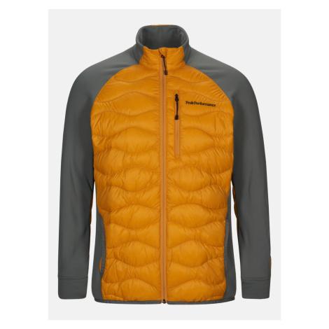 Bunda Peak Performance M Helium Hybrid Jacket - Oranžová