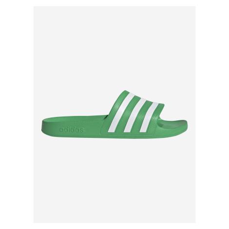 Adilette Aqua Pantofle adidas Performance Zelená