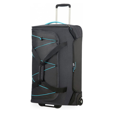 American Tourister Cestovní taška Road Quest  75 l - tmavě šedá/tyrkysová
