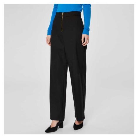 Černé culottes kalhoty Tola Selected