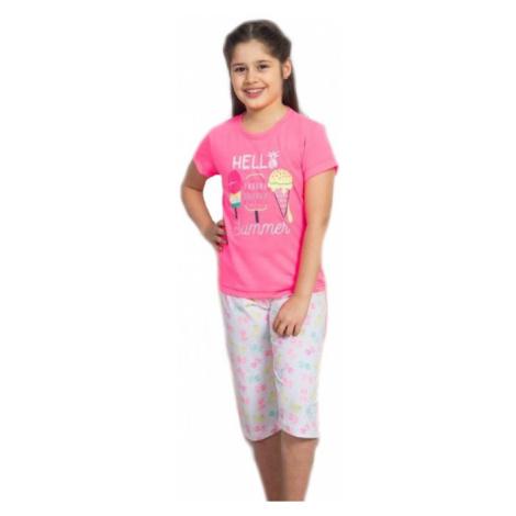 Dětské pyžamo kapri Vienetta Secret Zmrzlina | mátová