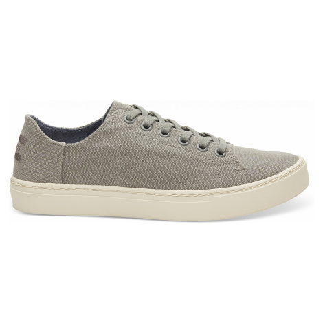 LENOX-Drizzle Grey Washed Canvas Toms