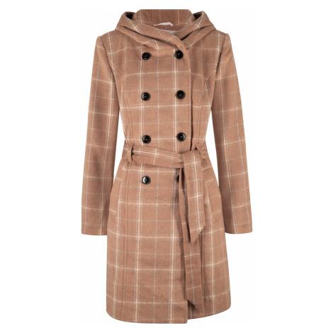 Krátký kostkovaný kabát Bonprix