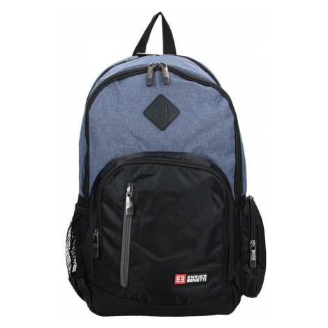 d25bd437610 Pánský sportovní batoh Enrico Benetti Gole - černo-modrá