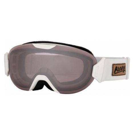 Arcore BROOKE bílá - Dámské lyžařské brýle