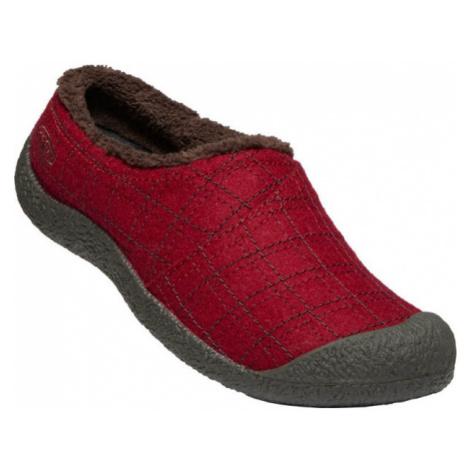 KEEN HOWSER WRAP SLIDE W Dámská zimní obuv 10007928KEN01 red felt/plaid