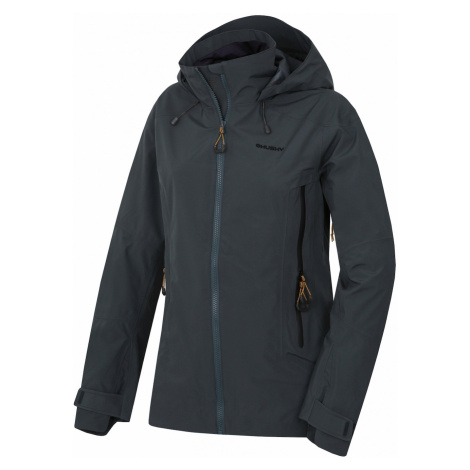 Women's outdoor jacket Nakron L black menthol Husky