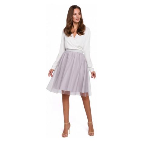 Tylová sukně s pružným pasem MAKEOVER K033