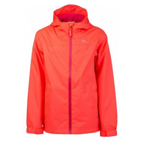 Lewro KIARAN oranžová - Dětská šusťáková bunda