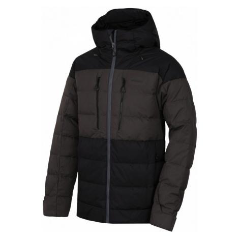 Pánská péřová bunda HUSKY Dester M černá
