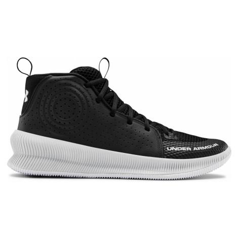 Basketbalová obuv Under Armour Jet Černá / Bílá