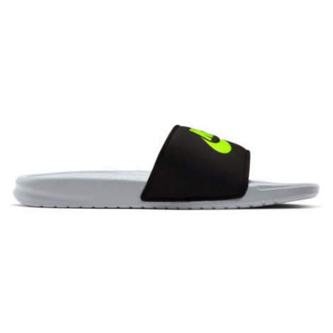 Nike BENASSI JDI bílá - Pánské pantofle