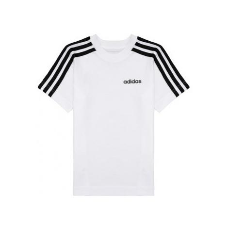 Adidas YB E 3S TEE Bílá